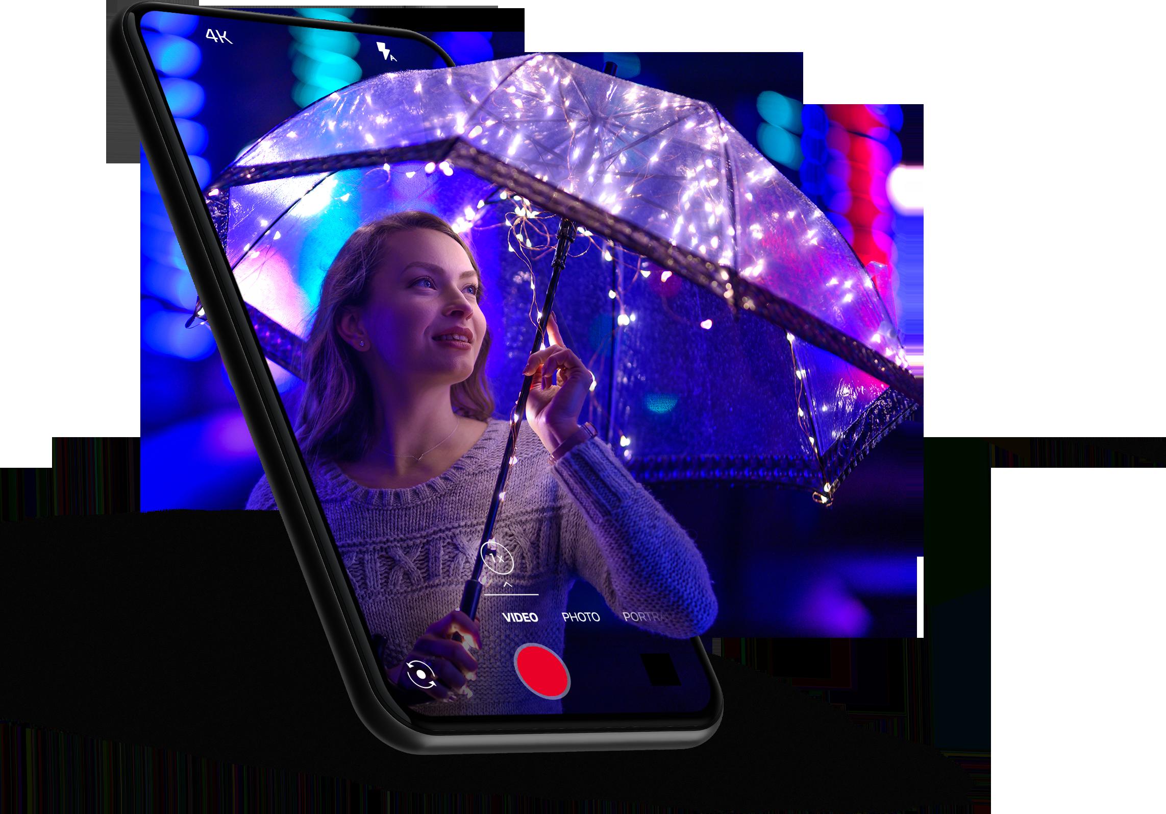 Phone camera umbrella