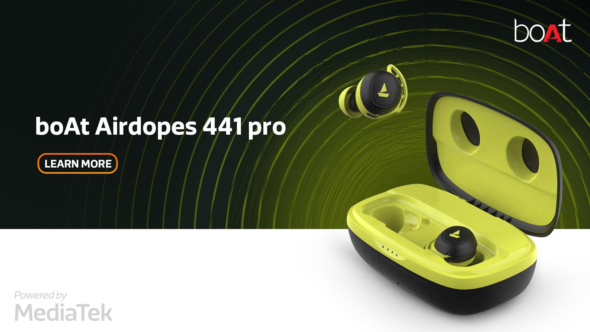 boAt-Airdopes-441-pro
